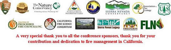 Fire conference sponsors