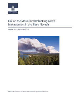Little Hoover Commission Report: Forest Management