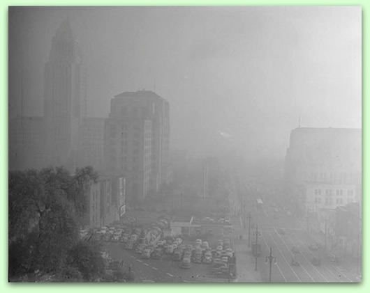 Los Angeles air quality, 1-6-1948 UCLA A
