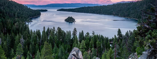 Emerald Bay, Lake Tahoe Image by Frank Schulenberg