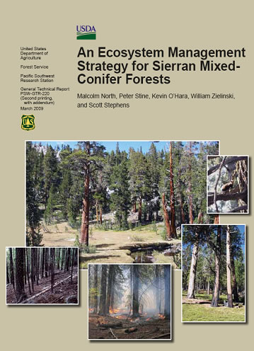An Ecosystem Strategy for Sierran Mixed-Conifer Forests