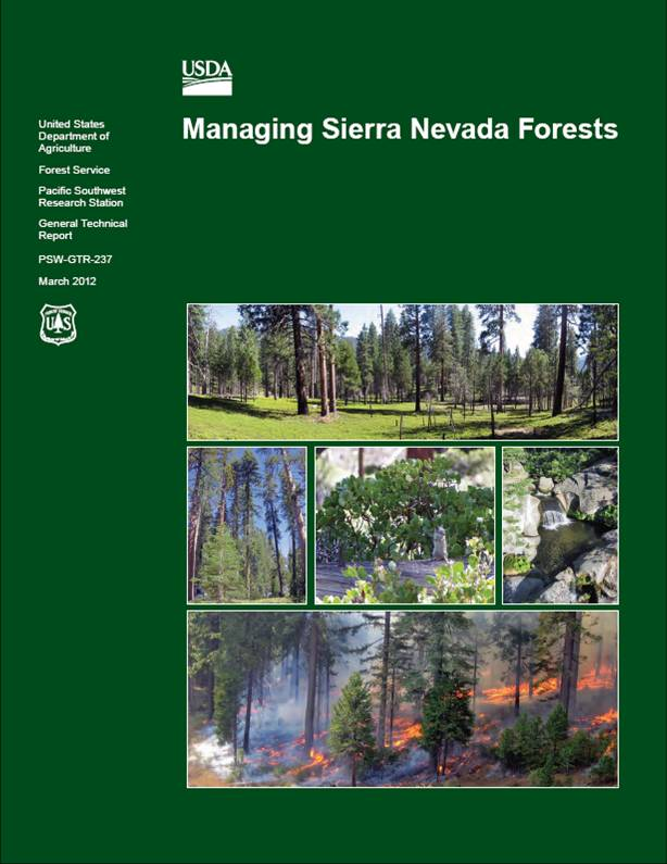Managing Sierra Nevada Forests